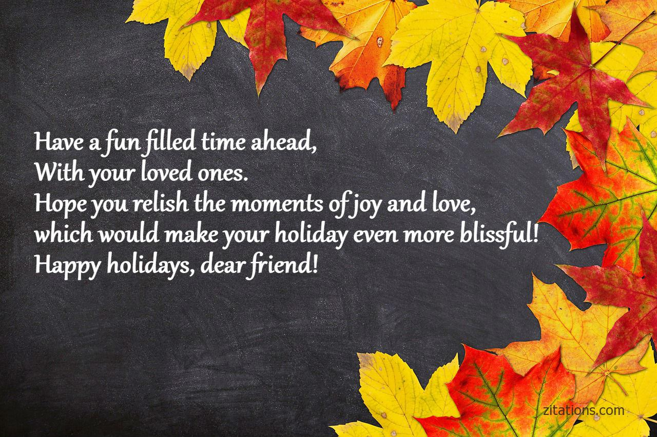 Holiday Wishes Quotes Endearing Happy Holiday Wishes And Quotes  Picture Greetings To Make It