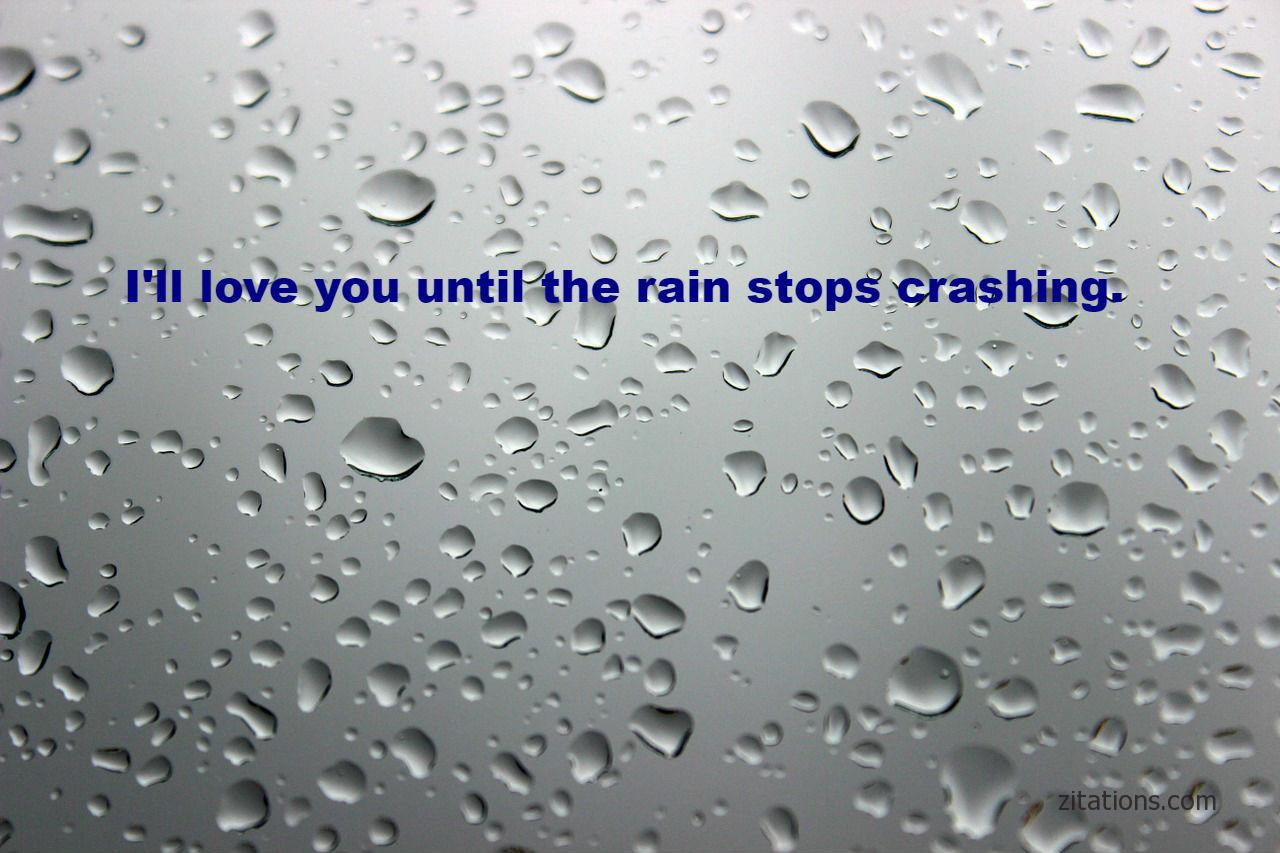 Romantic Rain Quotes - Explore The Beauty - Zitations