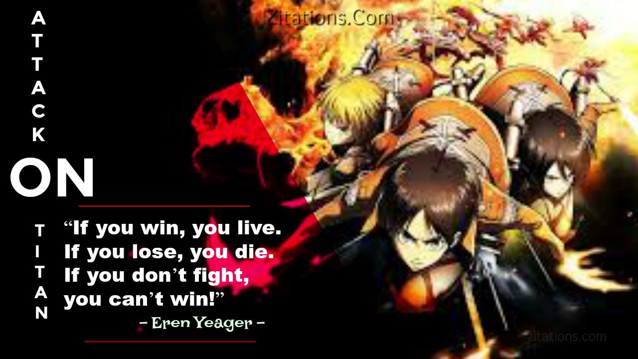 Attack On Titan Quotes Eren Yeager