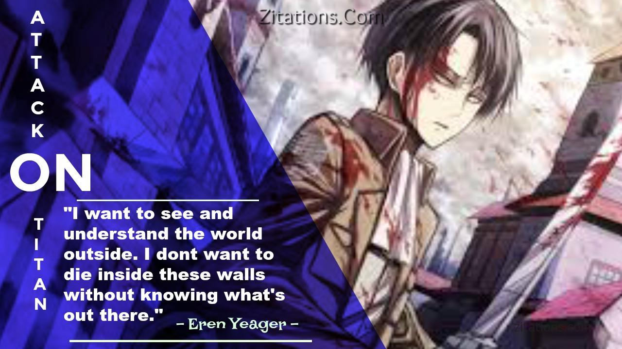 Eren Yeager - AOT Quotes